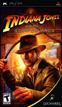 Indiana Jones And The Staff Of King PSP