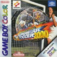 International Superstar Soccer 2000 Game Boy Color