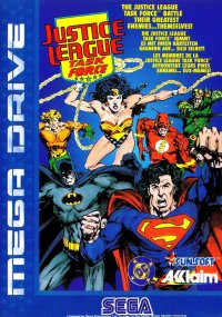 Justice League: Task Force Mega Drive