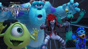Kingdom Hearts 3 confirma un mundo basado en Monstruos S.A.