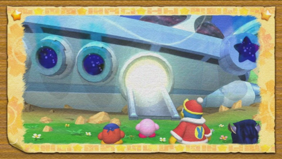 Kirby's Adventure Wii (Captura de pantalla)