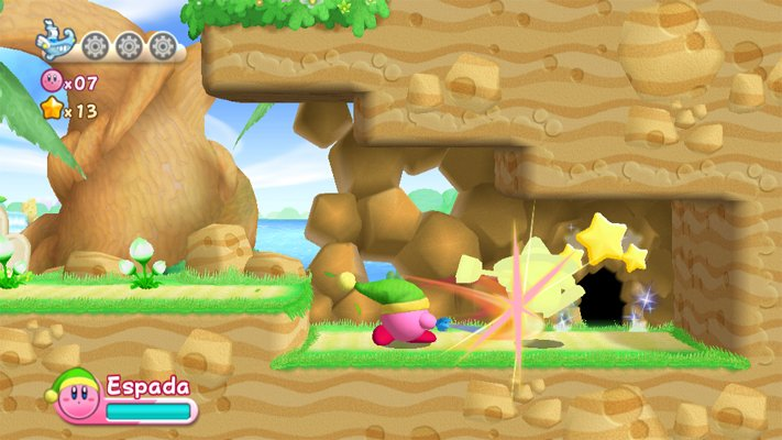 Kirby's Adventure Wii (Capturas de pantalla)