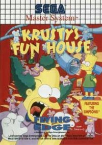 Krusty's Fun House Master System