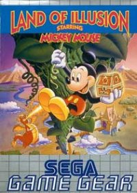 Land of Illusion starring Mickey Mouse Game Gear