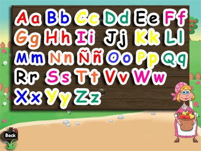 Learn farm animal and letter