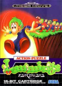 Lemmings Mega Drive