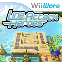 Line Attack Heroes Wii