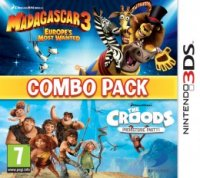 Madagascar 3 & The Croods: Combo Pack Nintendo 3DS