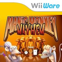 Manic Monkey Mayhem Wii