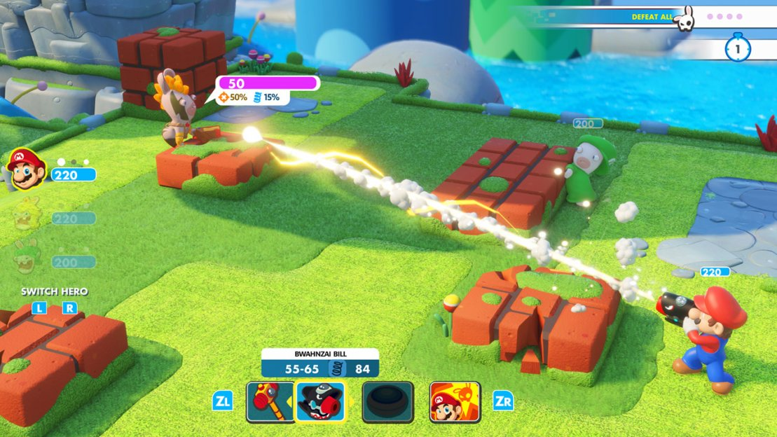 Mario   Rabbids: Kingdom Battle