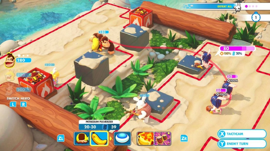 Mario   Rabbids Kingdom Battle: Donkey Kong Advent