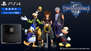 Sony anuncia la PlayStation 4: Kingdom Hearts 3 Edition