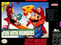 Mario's Early Years: Fun with Numbers Super Nintendo