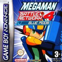Mega Man Battle Network 4 Blue Moon Game Boy Advance