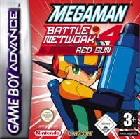 Mega Man Battle Network 4 Red Sun Game Boy Advance