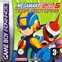 Mega Man Battle Network 5: Team ProtoMan Game Boy Advance