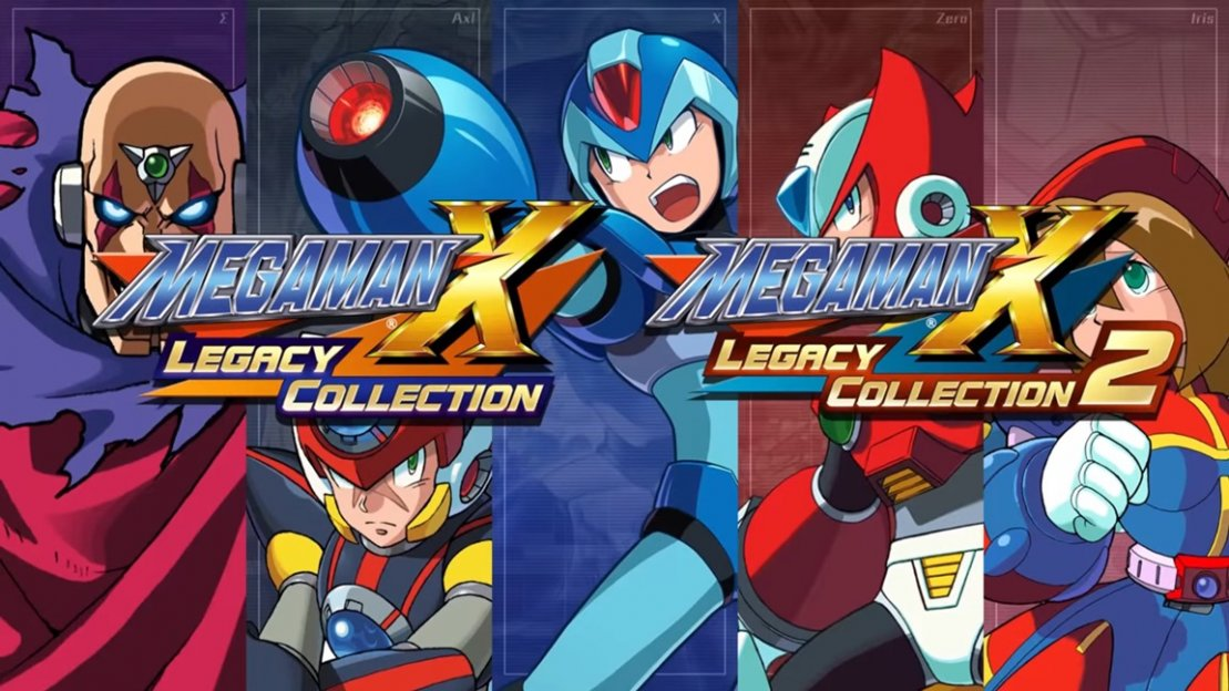 Mega Man X Legacy Collection 1-2