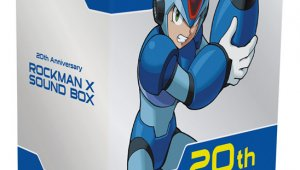 Detalles sobre Mega Man X Sound Box