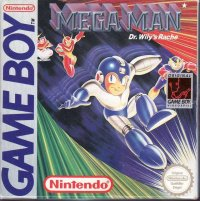 Megaman in Dr. Wily's Revenge Game Boy
