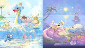 Pikachu and Friends ~HAPPY BEACH TIME~ llega en abril