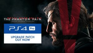 Metal Gear Solid V: The Phantom Pain recibe una actualización en PS4 Pro