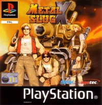 Metal Slug X Playstation