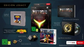 Metroid Samus Returns para Nintendo 3DS; Unboxing de la  Legacy Edition
