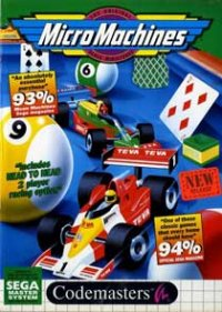 Micro Machines Master System