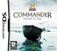 Military History Commander Europe at War Nintendo DS