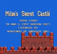 Milon's Secret Castle Wii
