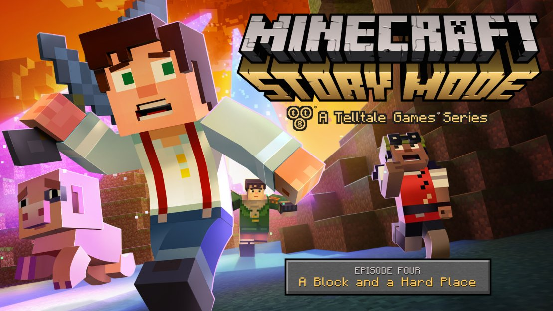 Minecraft: Story Mode - A Block and a Hard Placey