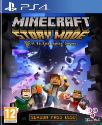 Minecraft: Story Mode - A Telltale Games Series PS4