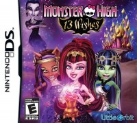 Monster High 13 Monstruo Deseos Nintendo DS