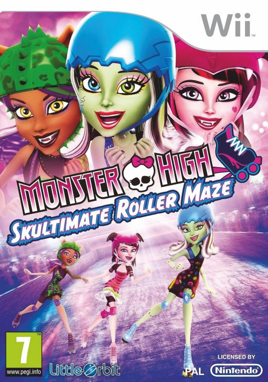 Monster High El patinaje laberíntico