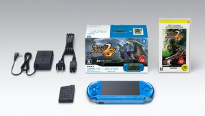 Un vistazo al pack Monster Hunter Portable 2G y PSP
