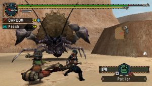 Monster Hunter Freedom Unite será el primer titulo compatible con Ad-Hoc party