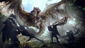Capcom comparte un extenso gameplay de Monster Hunter World