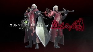 Monster Hunter World tendrá un evento de colaboración con Devil May Cry