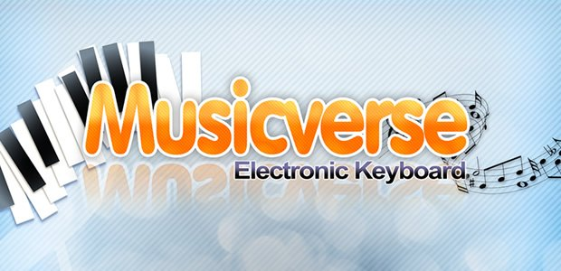 Musicverse Electronic Keyboard