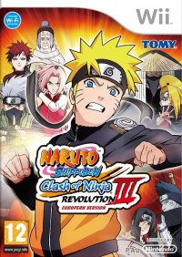 Naruto: Clash of Ninja Revolution 3 Wii