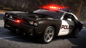 NFS Hot Pursuit, trailer Policial.
