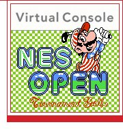 NES Open Tournament Golf Wii