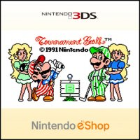 NES Open Tournament Golf Nintendo 3DS