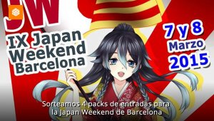 Sorteamos 4 packs de entradas para la Japan Weekend de Barcelona