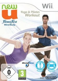 NewU Fitness First Mind Body Yoga & Pilates Workout Wii