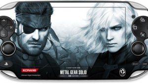 skins para PS Vita de Gundam, Persona and Metal Gear