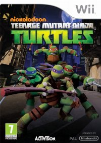 Nickelodeon Teenage Mutant Ninja Turtles Wii