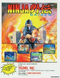 Ninja Gaiden Recreativa