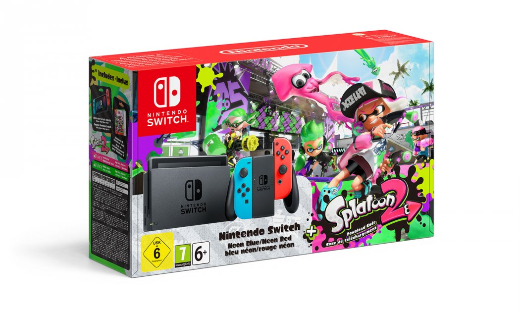 Bundle de Splatoon 2