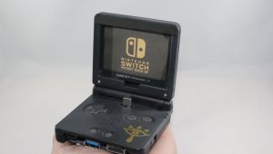 Un fan crea un dock para Nintendo Switch a partir de una Game Boy Advance SP